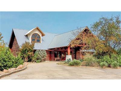 Burnet County Single Family Home For Sale: 118 Kingsland Ranch Cv