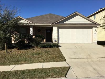Buda Single Family Home For Sale: 2100 Constellation