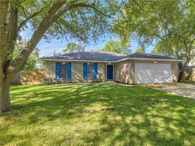 Pflugerville Single Family Home Pending - Taking Backups: 1503 Pigeon Forge Rd