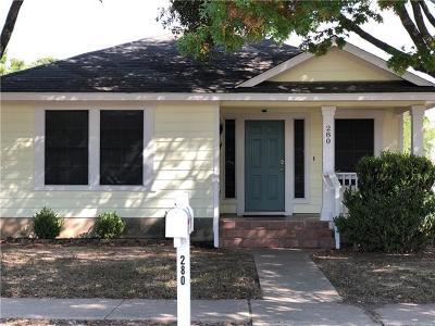 Kyle Single Family Home For Sale: 280 Sampson