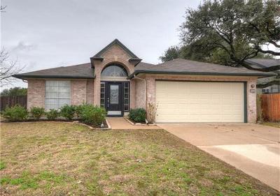 Cedar Park Single Family Home Pending: 1308 Rambling Cv