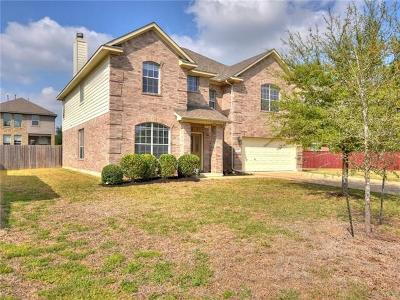 Cedar Park Single Family Home For Sale: 1709 Harvest Bend Ln