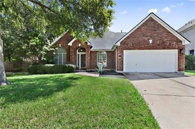 Hays County, Travis County, Williamson County Single Family Home For Sale: 6401 Nasoni Cv