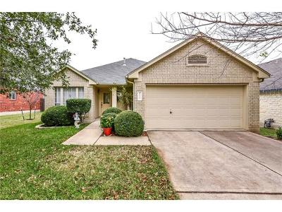 Round Rock Single Family Home For Sale: 4070 Cargill Dr