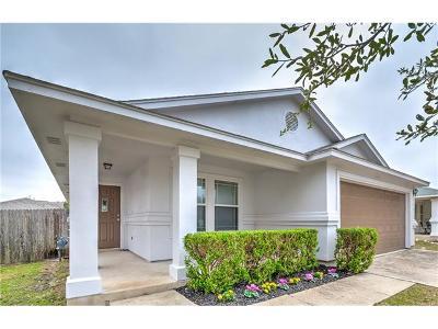 Leander Single Family Home For Sale: 302 Golden Gate Dr