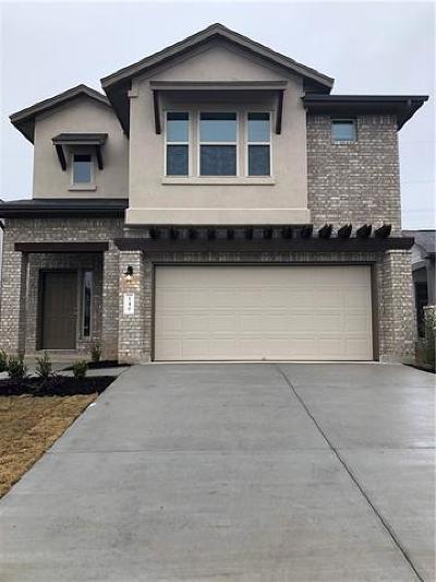 Leander Single Family Home For Sale: 237 Lambert St