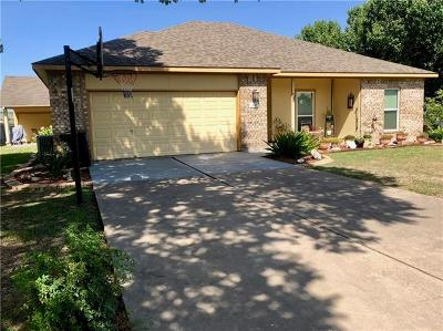 Hutto TX Single Family Home For Sale: $229,900