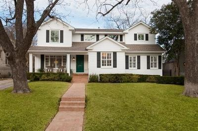 Austin Single Family Home For Sale: 2202 Bowman Ave