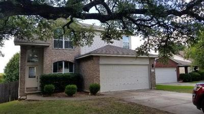 Round Rock Single Family Home For Sale: 1118 Sundrop Pl