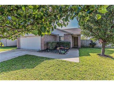Round Rock Single Family Home For Sale: 3661 Texana Loop
