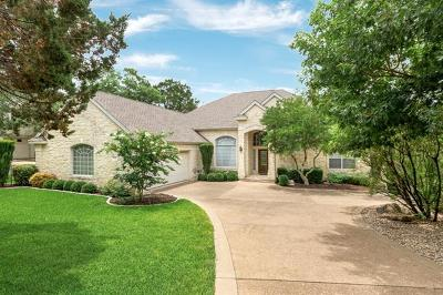 Lakeway Single Family Home For Sale: 719 Golf Crest Ln