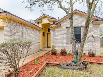 Leander Single Family Home Pending - Taking Backups: 809 Riverway Ln
