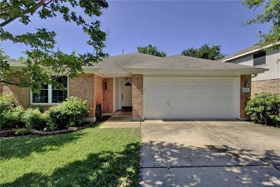 Round Rock Single Family Home Pending - Taking Backups: 16927 Dorman Dr