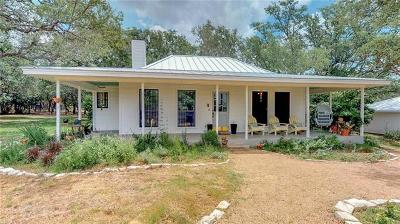 Dripping Springs Single Family Home For Sale: 151 Blue Creek Rnch