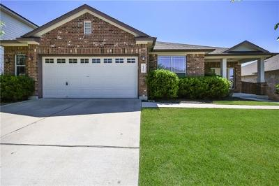 Pflugerville TX Single Family Home Active Contingent: $259,000