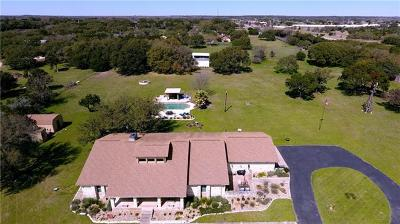 Round Rock Single Family Home Active Contingent: 5410 Thousand Oaks Dr