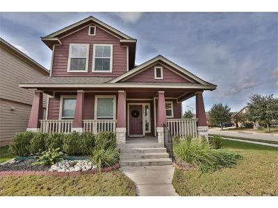 Pflugerville Single Family Home For Sale: 18610 Mammoth Cave Blvd