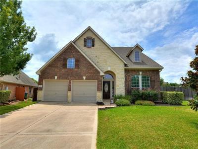 Cedar Park Single Family Home Pending - Taking Backups: 601 Victoria Cv