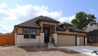Round Rock Single Family Home For Sale: 3524 De Soto Loop