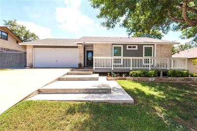 Round Rock Single Family Home Pending - Taking Backups: 900 Powder Horn Dr