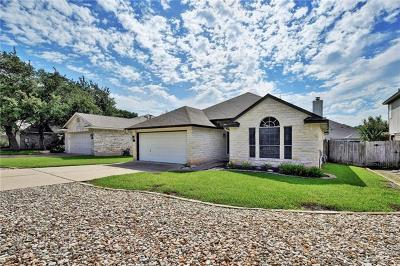 Cedar Park Single Family Home For Sale: 2214 Macaw Dr