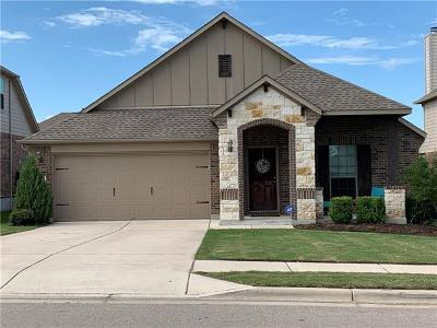 Pflugerville Single Family Home Pending - Taking Backups: 2304 Stonepath Way