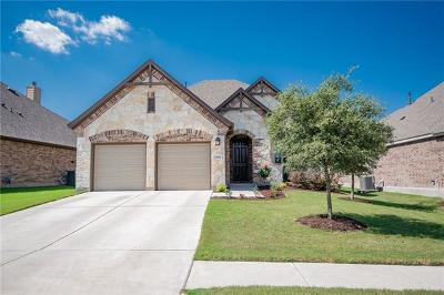 Round Rock  Single Family Home For Sale: 5866 Casstello Dr