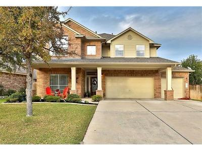 Round Rock Single Family Home For Sale: 2905 Magellan Way