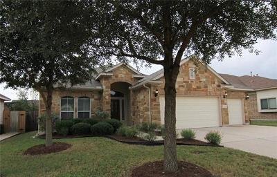 Cedar Park Single Family Home For Sale: 1002 Retama Dr