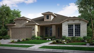 Round Rock Single Family Home For Sale: 3100 Cipresso Cv