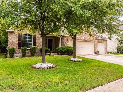 Round Rock Single Family Home For Sale: 2223 Buena Vista Ln