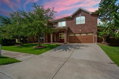 Round Rock Single Family Home For Sale: 705 Rock Midden Ln
