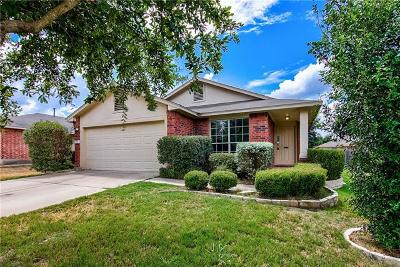 Leander Single Family Home For Sale: 1107 Burgess Dr