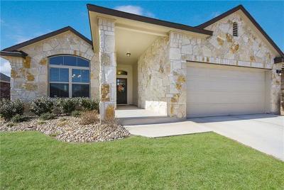Leander Single Family Home Pending - Taking Backups: 909 Canvasback Creek Dr