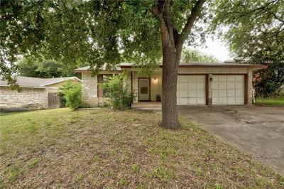 Austin Single Family Home Pending - Taking Backups: 5545 Pine Pl