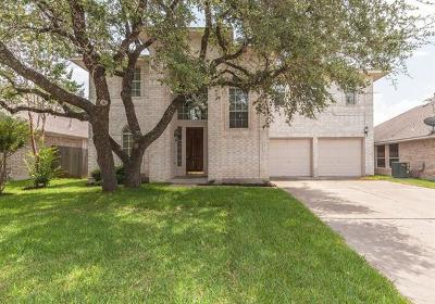 Cedar Park TX Single Family Home For Sale: $310,000