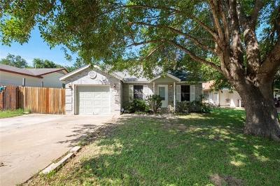 Hays County, Travis County, Williamson County Single Family Home Pending - Taking Backups: 6802 Blue Dawn Trl