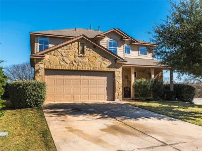 Round Rock Single Family Home For Sale: 2801 Shadowpoint Cv