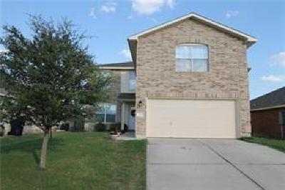 Jarrell Single Family Home For Sale: 251 Shale Dr