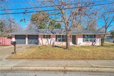 Austin Single Family Home For Sale: 3306 Loyola Ln