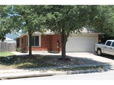 Pflugerville Single Family Home Pending - Taking Backups: 1108 Traci Michelle Dr