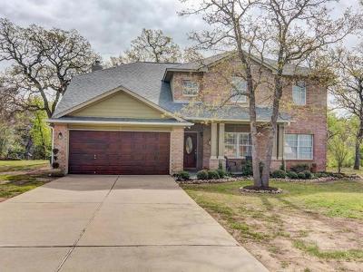 Cedar Creek Single Family Home For Sale: 145 Murchison Dr