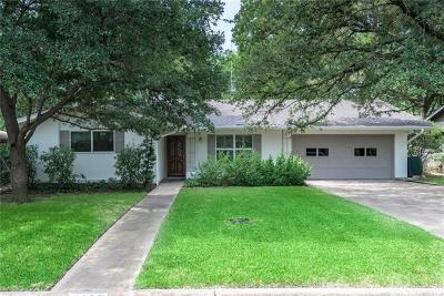 Travis County Single Family Home Pending - Taking Backups: 3109 Silverleaf Dr