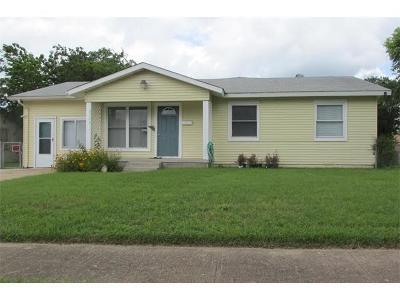 Killeen Single Family Home For Sale: 2709 Hillside Dr