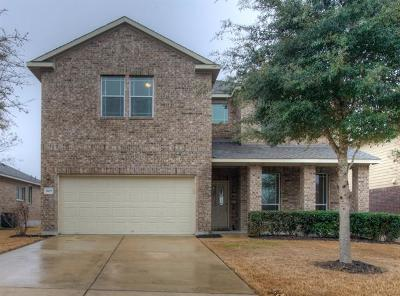 Pflugerville Single Family Home For Sale: 3109 Hawks Swoop Trl