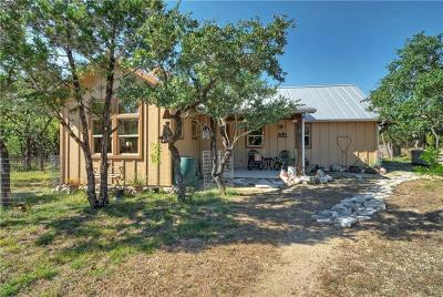 Dripping Springs TX Single Family Home Pending - Taking Backups: $499,000