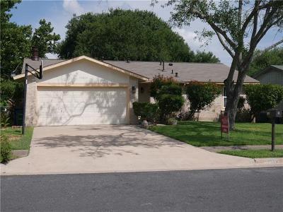 Austin Single Family Home Pending - Taking Backups: 11017 Prairie Dove Cir