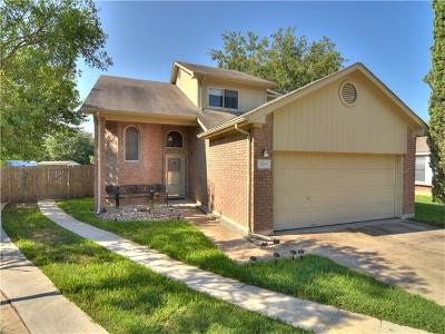Pflugerville Single Family Home Pending - Taking Backups: 1505 Blue Willow Ct