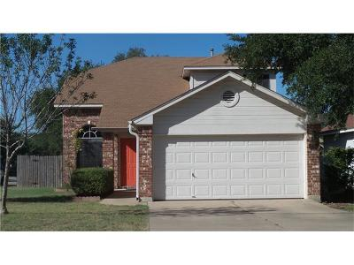 Pflugerville Single Family Home Pending - Taking Backups: 17700 Loch Linnhe Loop