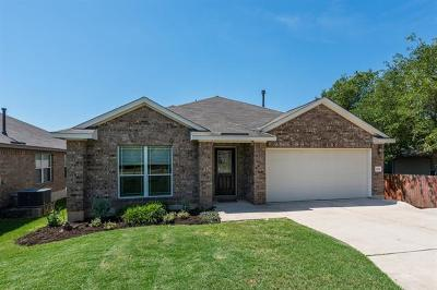 Hays County, Travis County, Williamson County Single Family Home Pending - Taking Backups: 2105 Christoff Loop
